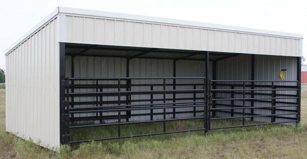 Small Livestock Barn Sheds