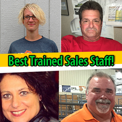 Best Trained Sales Staff in the Nation!