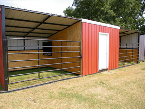 Build a run-in shed - Horses and horse training, care, tack, and