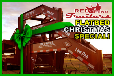 Red Rhino Flatbed Christmas Speceial - Click here!