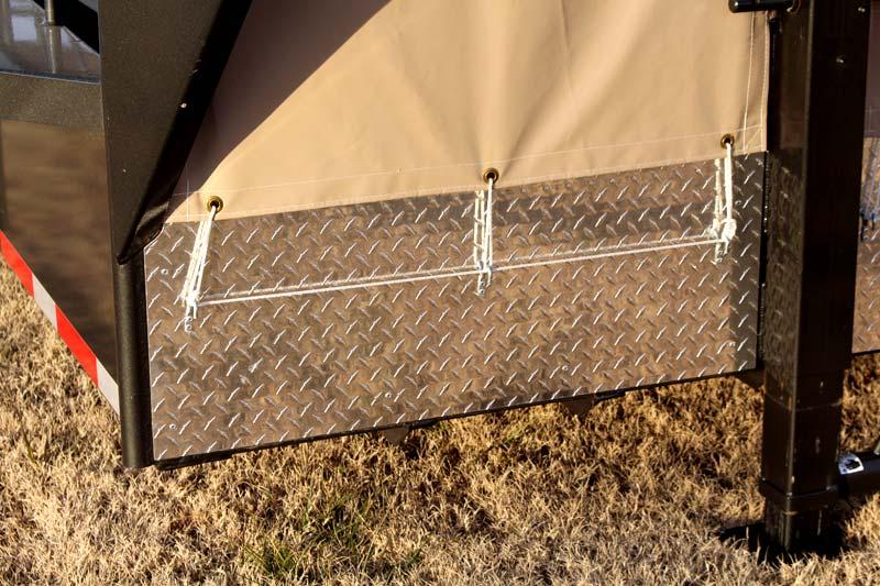 Diamond Plate Pipe : Galyean livestock trailer gobob pipe and steel