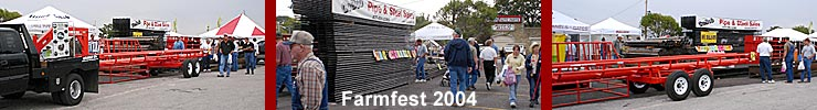 Gobob's Farmfest 2004 showing - Click the link below to find out where to catch GoBob Pipe and Steel Next!