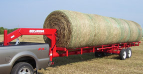 Red Rhino Hay Trailer