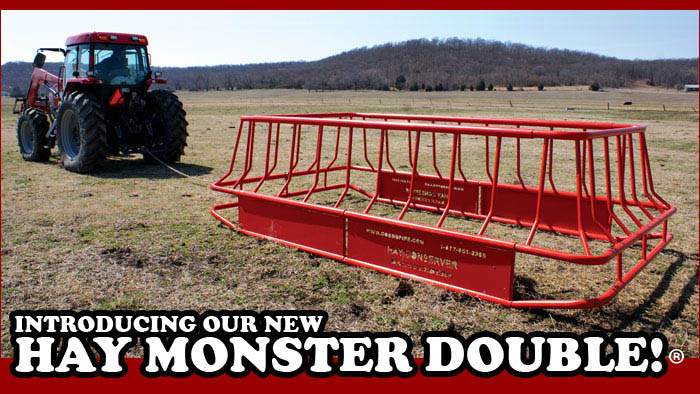 Hay Monster Double Feeder Conserver