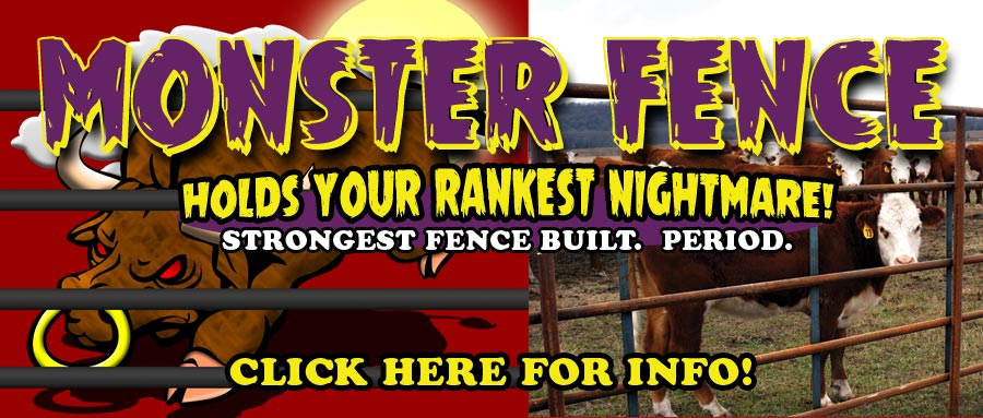 Monster Fence - The Strongest Continuous Fence Panel