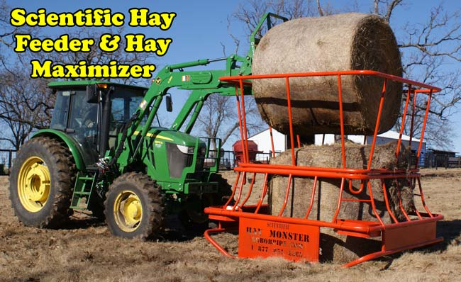 Scientific Hay Feeder