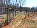 Fortress Fencing installed by Big South