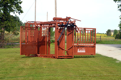 LS-350 Squeeze Chute