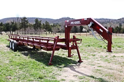 Red Rhino Hay Trailers - GoBob Pipe and Steel Sales