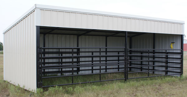 Portable Calf Shed : G shed cattle run in plans