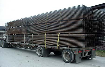 Truckload of Fortress Fence headed for North Dakota.