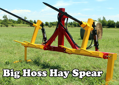 Dual Hydraulic Bale Spear- Click Here!
