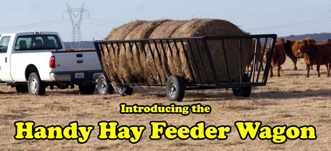 Handy Hay Feeder Wagon