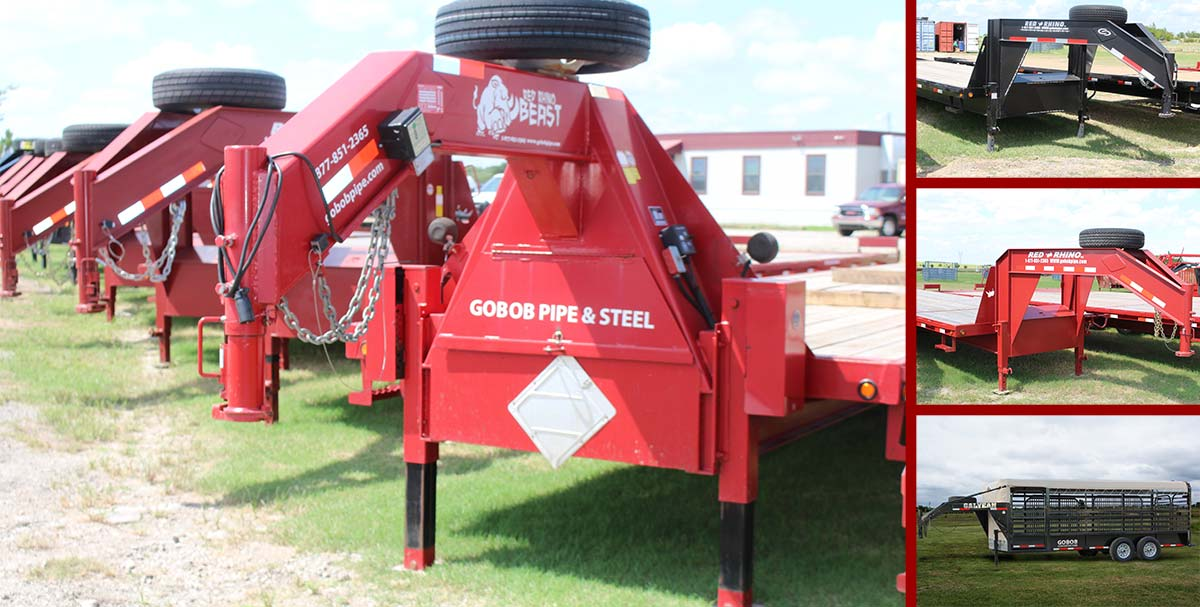 In Stock - Trailers - GoBob Pipe and Steel