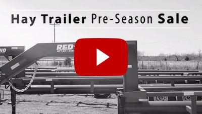 Hay Trailer Pre-Season Sale