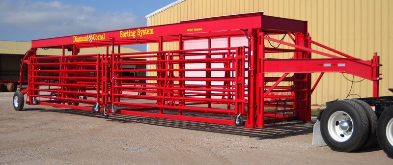 Portable Corral Systems For Cattle