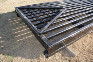 Gobob Pipe And Steel Cattle Guards