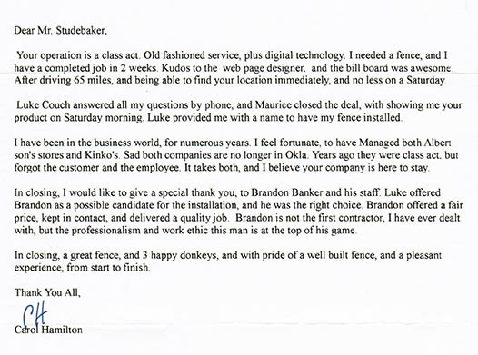 Oklahoma Water