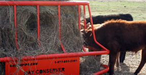 Hay Monster Bale Feeder