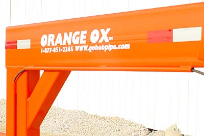 GoBob Pipe and Steel - Orange Ox - Super heavy duty reinforced neck will give you many years of worry free service
