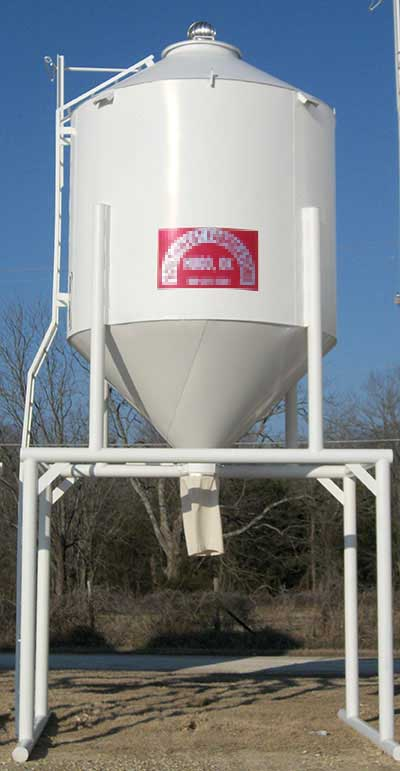 Overhead Feed and Grain Bins - Livestock Equipment - GoBob