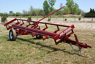 Red Rhino Hay Trailers GoBob Pipe and Steel Sales